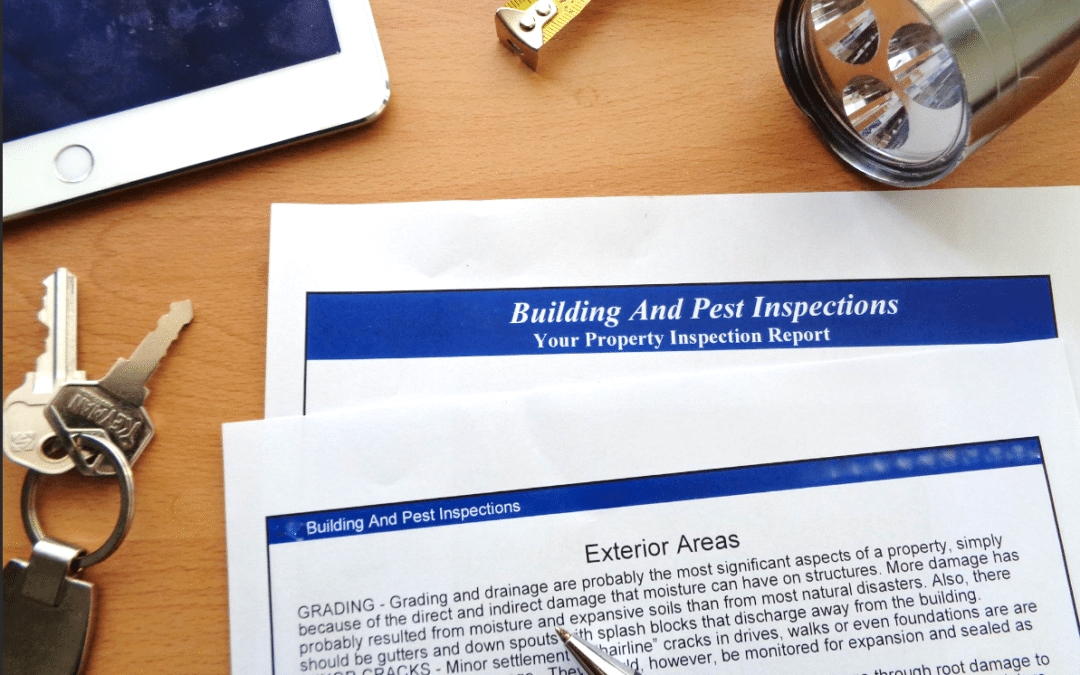 When to get a building & pest inspection